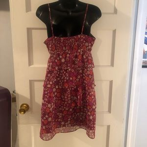 American Eagle Outfitters Dresses - American Eagle Floral Ruffle Zip Dress